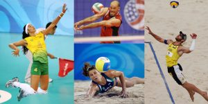 Indoor Volleyball and Beach Volleyball